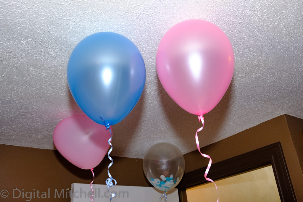 images from gender reveal party