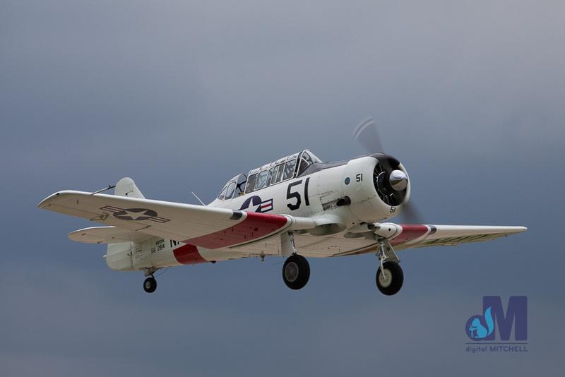 Picture of vintage World War II plane