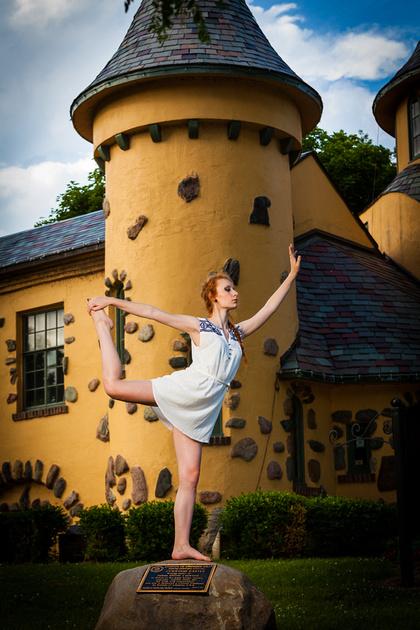 Curwood Castle model photograph
