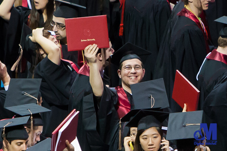 image of graduate from Indiana University