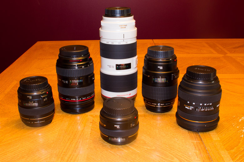 picture of camera DSLR lenses