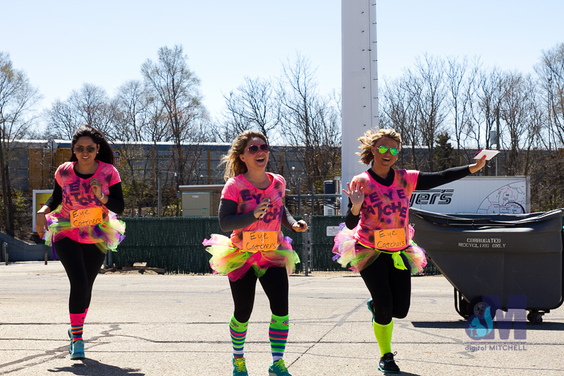 picture of the finish line at the Elkhart Amazing Race 2014
