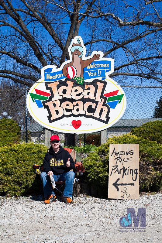 picture at Ideal Beach during the Elkhart Amazing Race 2014