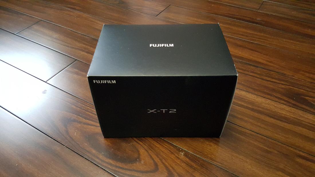 Picture of Fujifilm XT-2 Box