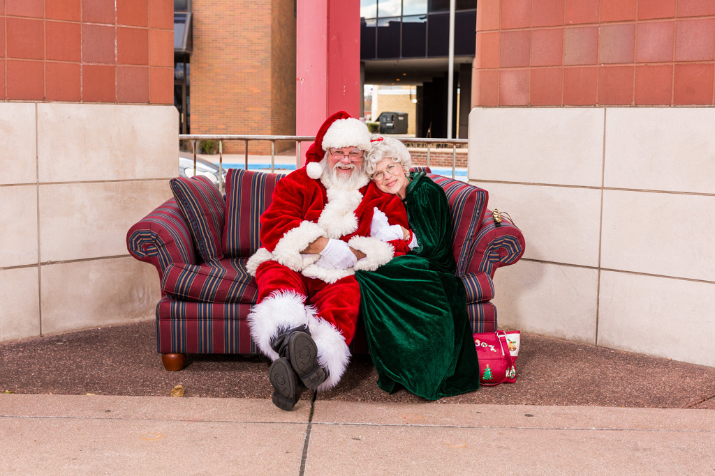 picture of Mrs. Claus with Santa