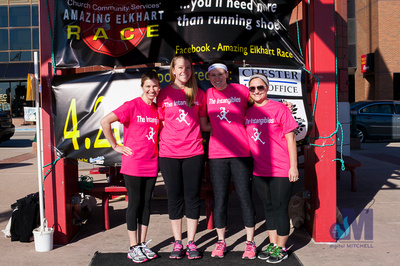 Elkhart Amazing 2014 Race team Pink