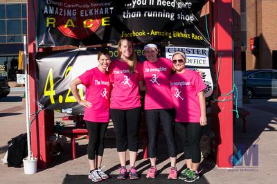 Elkhart Amazing 2014 Race team Pink