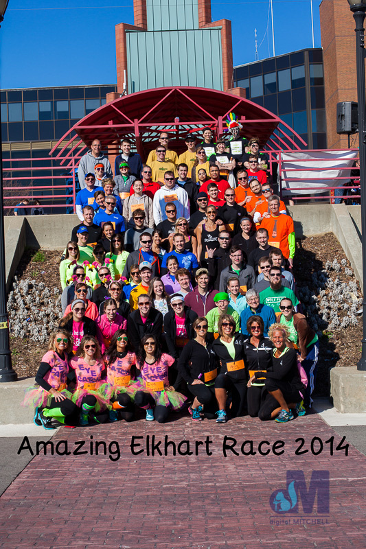 Elkhart Amazing 2014 Race teams