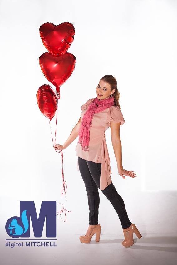 soft valentine girl